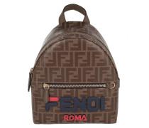 Rucksack Fendimania Mini Backpack Brown braun
