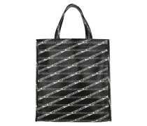 Shopper Market Shopper S Noir/Gris schwarz
