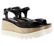 Felix Platform Sandals Black Sandalen