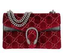Umhängetasche Dionysus GG Small Shoulder Bag Velvet Red rot