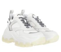 Sneakers Big Sole Sneaker White/Silver weiß
