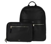 Rucksack Backpack Laptop Bag Set Black