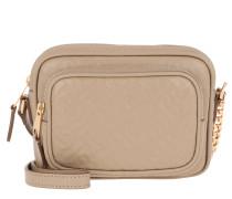 Umhängetasche Monogram Shoulder Bag Leather Honey beige