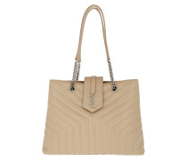 LouLou Shopping Bag Large Y-Quilted Leather Powder Tote