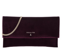Velvet Chain Umhängetasche Bag Regimental Red