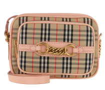 The 1983 Check Link Camera Bag Peach Tasche rosa