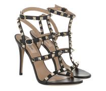 Rockstud Sandal 100 Black Sandalen
