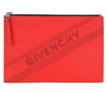 Clutch Perforated Logo Clutch Pop Red rot