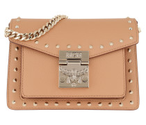 Umhängetasche Patricia Studded Outline Crossbody Mini Biscuit