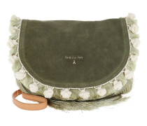 Fringed Crossbody Bag Daily Green Tasche