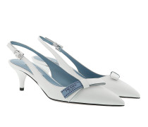 Sling Pumps White Pumps