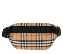 Gürteltasche Vintage Check Belt Bag Medium Beige beige