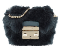 Metropolis Mini Pouch Avio Scuro Clutch