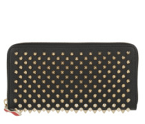 Panettone Zip-Around Wallet Leather Black/Gold