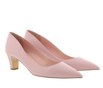 Pumps Amara Low Heel Court Shoe Carnation Pink