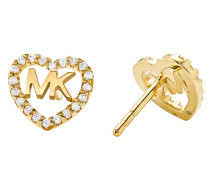 Ohrringe MKC1243AN710 Hearts Earrings Gold