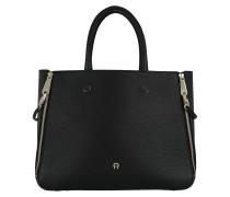 Lea Handle Bag Black Tote