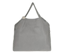 Tote Falabella Small Tote Shaggy Deer Light Grey grau