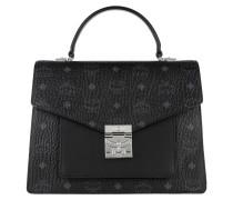 Satchel Bag Patricia Visetos Satchel Medium Black schwarz