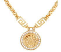 Schmuck Emblem Metal Necklace Oro gold