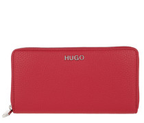 Mayfair Ziparound Wallet Bright Red