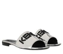 Schuhe Mule Silver