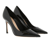D-Stiletto Pumps 10 Leather Black Pumps