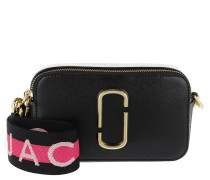 Umhängetasche Logo Strap Snapshot Small Camera Bag Leather Black/Multi schwarz