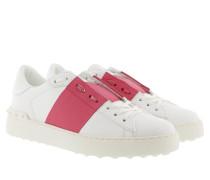Bicolor Rockstud Sneaker White/Shadow Pink Sneakers