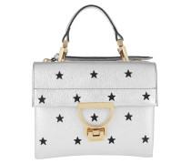 Vitello Grana Bag Star Silver/Noir