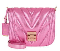 Patricia Quilted Shoulder Bag Small Viva Lila Tasche