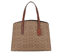 Tote Canvas Signature Charlie Carryall Rust braun