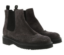 Chelsea Boots Leather Anthracite Schuhe