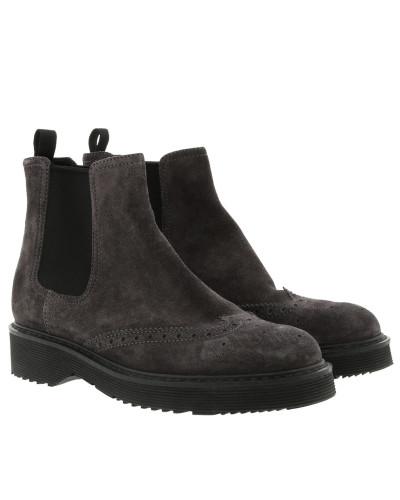Günstig Kaufen 100% Original Geringster Preis Prada Damen Chelsea Boots Leather Anthracite Schuhe Verkauf Offizielle Seite Austritt Ansicht Shop-Angebot Online lTVfeSW