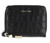 Portemonnaie Zoe Ziparound Wallet Medium Croco Black