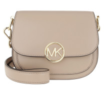 Umhängetasche Small Saddle Crossbody Bag Truffle beige