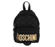 Rucksack Quilted Backpack Fantasia Nero