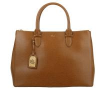 Double Zipper Satchel Lauren Tan Satchel Bag