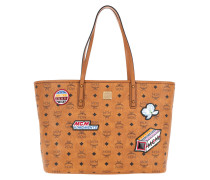Anya Victory Patch Visetos Shopper Medium Tote