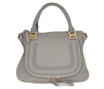 Marcie Medium Shoulder Bag Cashmere Grey Satchel Bag