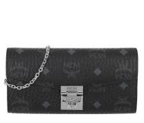 Patricia Visetos Wallet Large Black Tasche