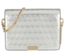 Jade MD Gusset Clutch Champagne