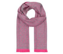 New Sten Scarf Grey/Pink Accessoire rosa