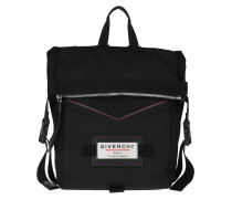 Rucksack Downtown Backpack Leather Black