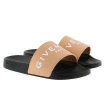 Schuhe Rubber Slides Sandals Nude beige
