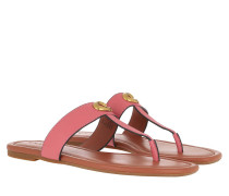 Sandalen Jessie Thong Signature Buckle Sandal Leather Orchid