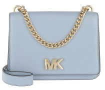 Mott LG Chain Swag Shoulder Bag Pale Blue Tasche