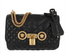 Umhängetasche Quilted Crossbody Bag Nero/Oro schwarz