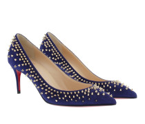 Pumps Escarpic 70 Suede Blue