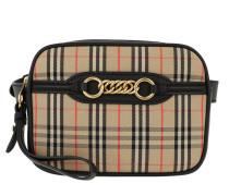 Gürteltasche Check Link Belt Bag Black beige